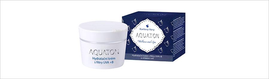 Линия Aquaton для увлажнения и повышения упругости кожи