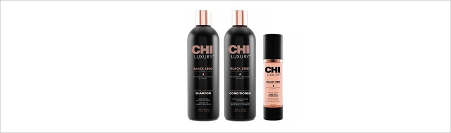 CHI LUXURY BLACK SEED OIL - уход с маслом черного тмина