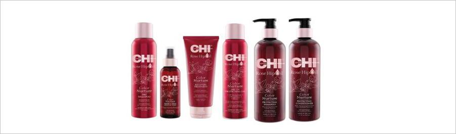 CHI ROSE HIP OIL - для окрашенных волос с маслом шиповника