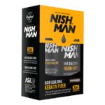 Комплект топик и жидкий лак Nishman Keratin Medium Brown
